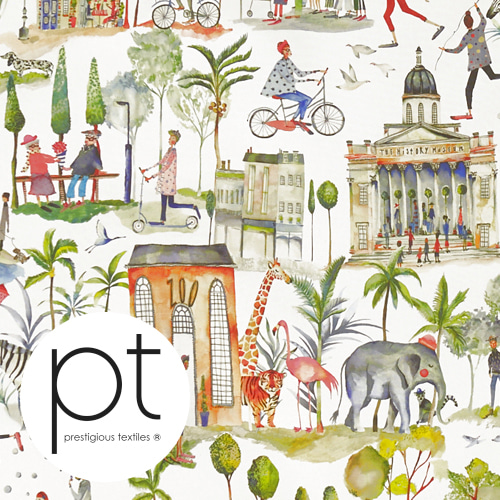 PT OUT AND ABOUT 8633 PAINTBOX 335 영국 수입원단/커튼원단/인테리어원단/쿠션원단(1/2마)